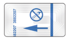 EAS Labels rfid RFID & EAS Solutions by Checkpoint 2815 EP Shoe Label