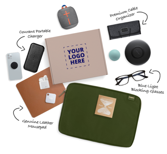 customized gifts corporate gifting How to retain your clients with Corporate gifts- Best corporate gifting ideas for personalized gifting Caroo Tech Lovers Box 1000px e1628793846680