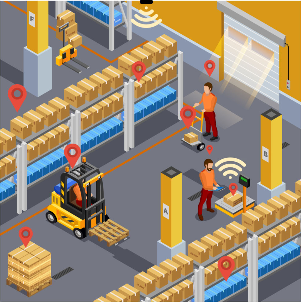 RTLS FOR WAREHOUSE rtls Real-Time Location Service (RTLS) For Growth and Sustainability. scan online locations solutions Warehouse and Supply Chain RTLS