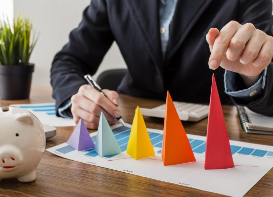 Profit margin profit margin Learn the ways to Increase the retail profit margin In the Next 5 minutes front view businessman with colorful cones representing growth scalia blog default